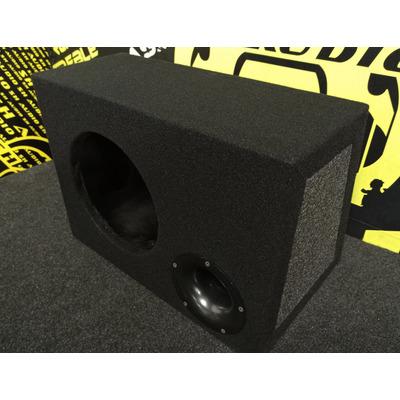 Bass reflex mélyláda, 25cm(10coll) méretű mélynyomó részére