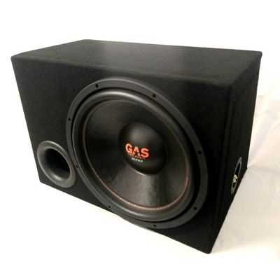 Gas Audio Alpha 15D2 mélyláda 700watt
