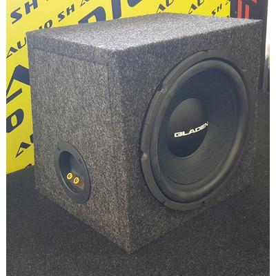 Gladen Audio Alpha 10 zárt mélyláda 25cm