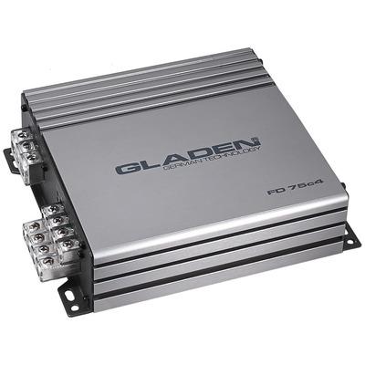Gladen Audio FD 75c4 autóhifi erősítő 4 csatornás
