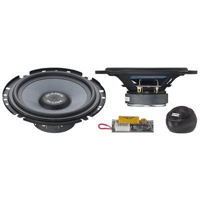 Gladen Audio M-LINE 165 SLIM két utas szuper lapos autóhifi hangszóró szett