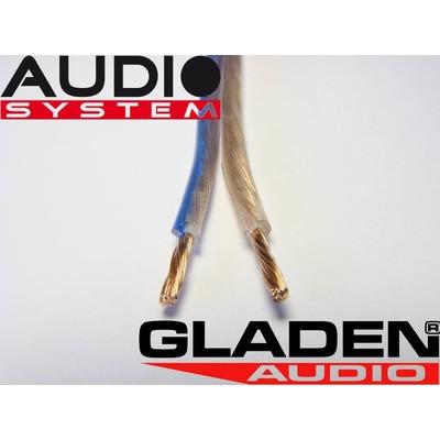 Hangszóró kábel Gladen Audio 2x0,75 mm2 Gladen GA 2x0,75