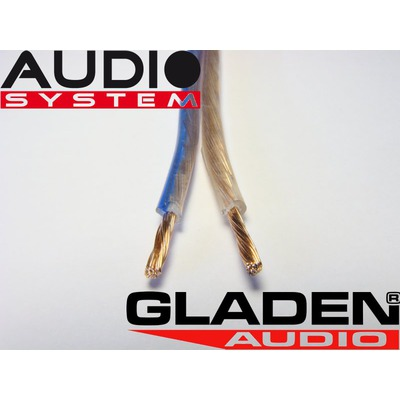 Hangszóró kábel Gladen Audio 2x1,5 mm2 GA 2x1,5