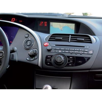 Honda Civic 2006-2011 2 DIN. rádió beszerelő keret