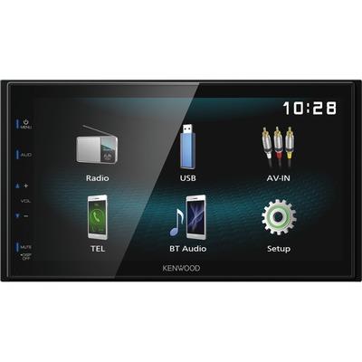 Kenwood DMX120BT érintőkijelzős autómultimédia okostelefon tükrözéssel és kihangosítóval