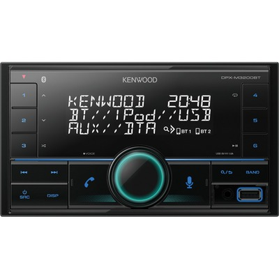 Kenwood DPX-M3200BT 2DIN-es autórádió BT kihangosítóval Alexa támogatással
