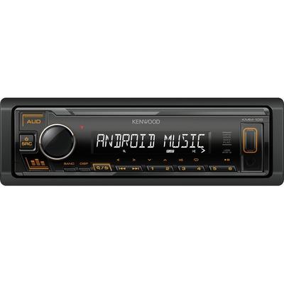 Kenwood KMM-105AY Digitális média vevő USB-vel, narancs gombvilágítással