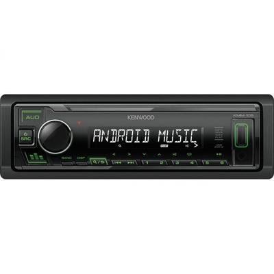 Kenwood KMM-105GY Digitális média vevő USB-vel, zöld gombvilágítással
