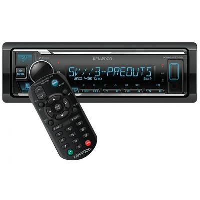 Kenwood KMM-BT356 mechanika nélküli USB autórádió iPod Direct vezérléssel változtatható színű megvilágítással