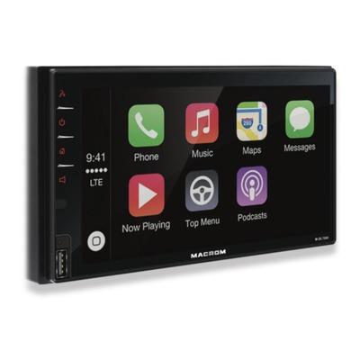 Macrom M-DL7000 2 DIN méretű érintőképernyős multimédia
