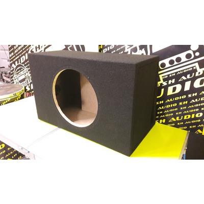 Mélyláda, bass reflex, üres, 50liter, 12 coll(30cm) mélynyomó részére