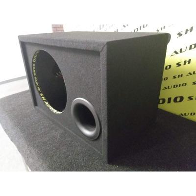 Mélyláda, üres, bass reflex, 30cm (12coll) mélynyomó részére