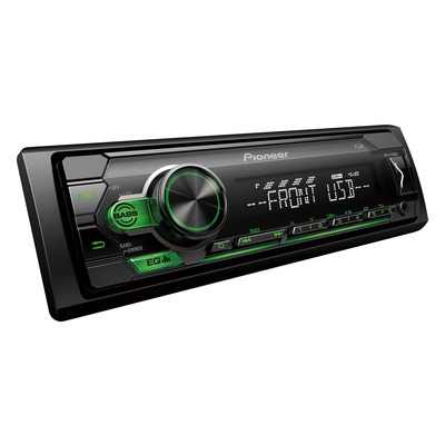 Pioneer MVH-S120UBG autórádió Előlapi USB, Aux-in bemenettel Android támogatással