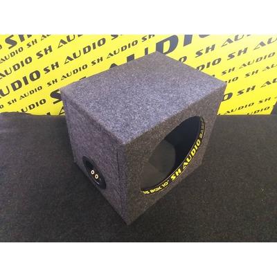 Sh audio bass box 10 üres mélyláda, 25cm-es mélynyomó részére