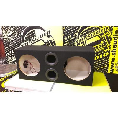 Sh Audio Bass box 12x2  dupla üres mélyláda