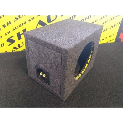 Sh audio Bass box 8 üres mélyláda, zárt, 20cm-es mélynyomó részére