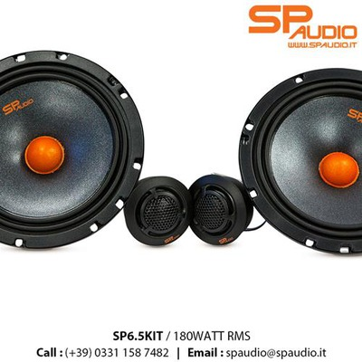SP Audio 6.5 KIT 360 WATT 2 utas szett,16,5cm