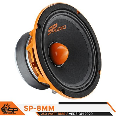 SP Audio 8MM 4 OHM Mélyközép FERRITE 20CM 250 WATT RMS