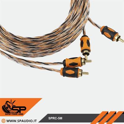 SP Audio RCA kábel szuper puha 5m