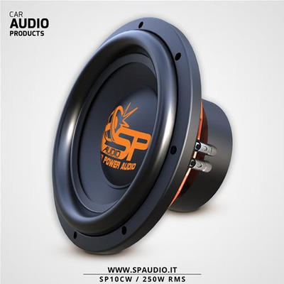 Sp Audio SP10CW Mélynyomó 25CM 700 WATT MAX