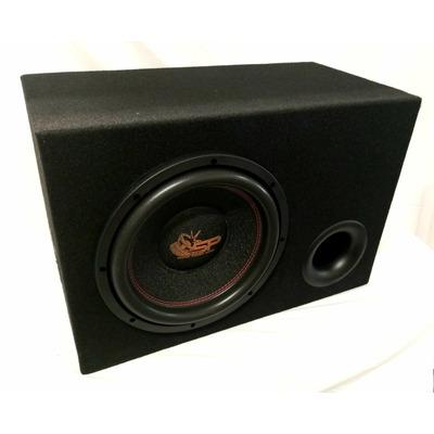 SP Audio SP12 CW bass reflex mélyláda 900watt,2x2ohm