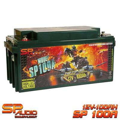 SP100 AGM Akkumulátor