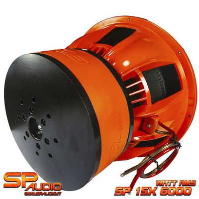 SP15X mélynyomó 38CM 6000 WATT RMS
