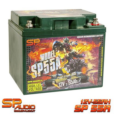 SP55 AGM Akkumulátor